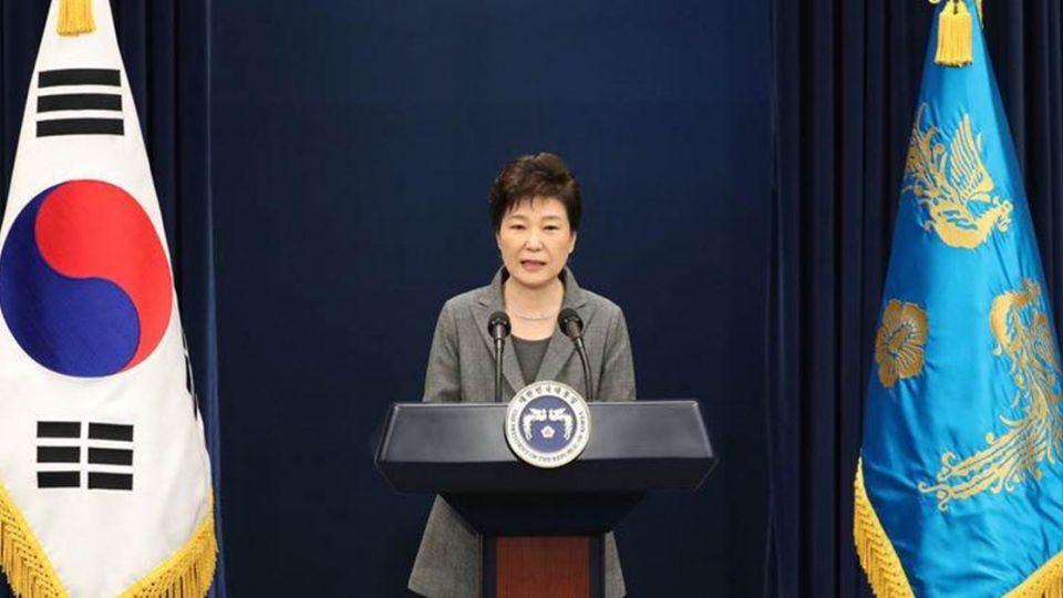 4%總統!朴槿惠3度道歉 願依國會決議辭職下台