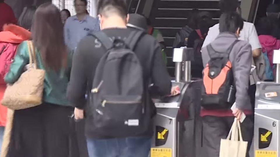 北捷劍潭站隨機打人 兩女無辜遭毆、嫌犯逃