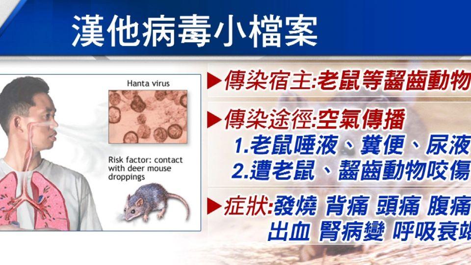 全文鼠害!「漢他病毒」 大中華地區每年10-20萬病例