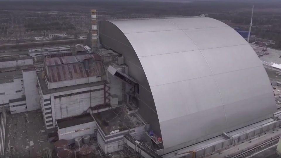 車諾比滿30年!烏克蘭斥資719億 巨大「石棺」牢鎖反應爐