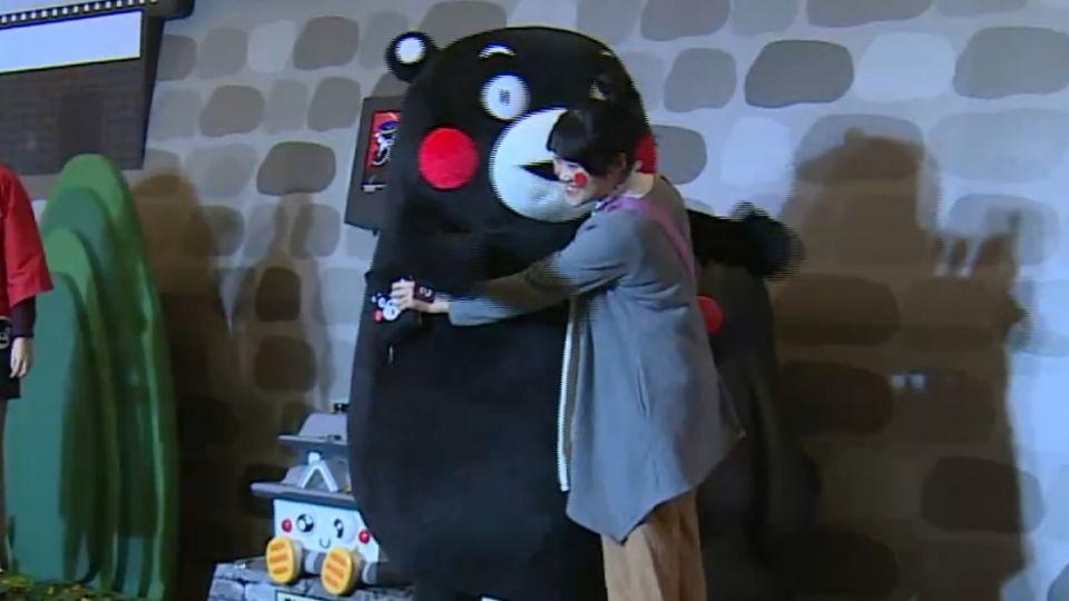 推熊本觀光! 熊本熊部長出馬上海辦展