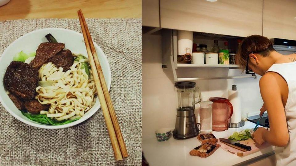 同框照洩同居ING 廚房成KID維恩的「幸福大!平!台!」