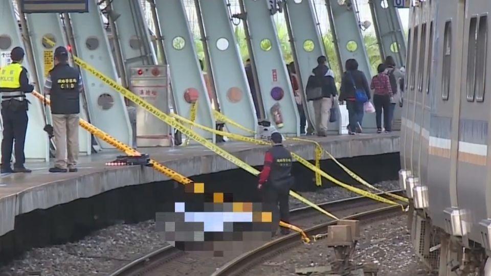 男子穿越鐵軌遭自強號撞死 影響逾8千旅客