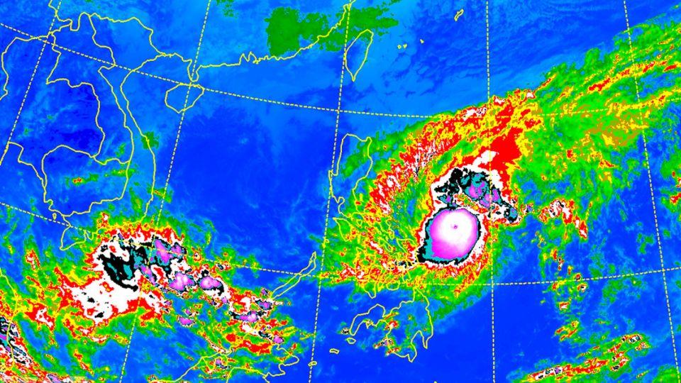 強颱「納坦」外圍將影響台灣!冷氣團下周報到氣溫下探14度