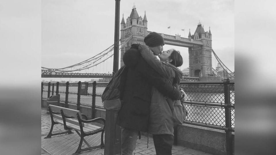 Ella曬塔橋吻照 「倫敦愛情故事」害單身狗都哭了