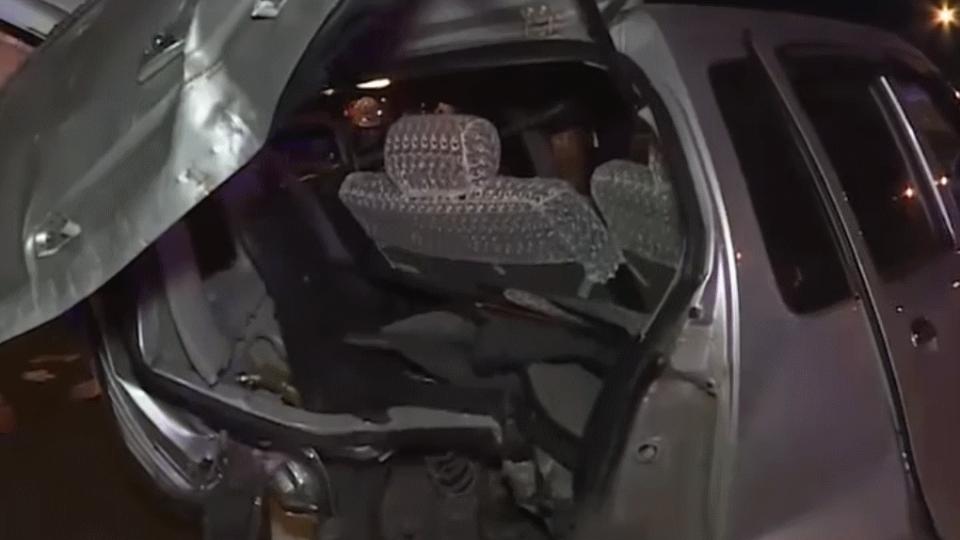 國道酒駕開無牌車追撞2車 駕駛:不是我開的