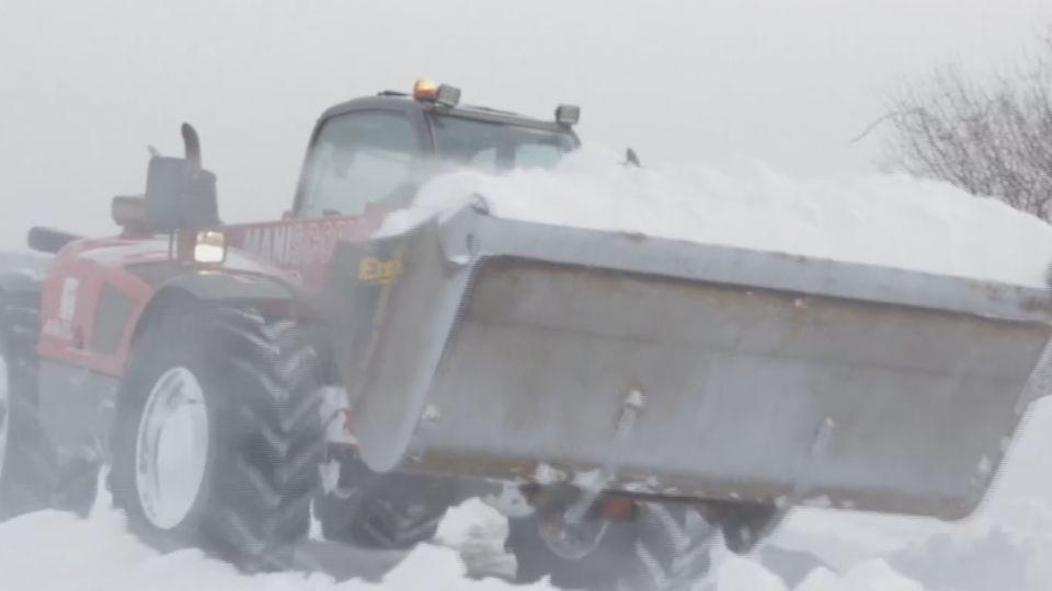 歐洲暴風雪極凍天氣! 兩日內至少23人死亡