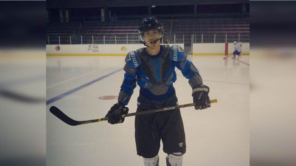 恭喜!許孟哲苦熬10年入選冰球國手 2月起征戰世界盃