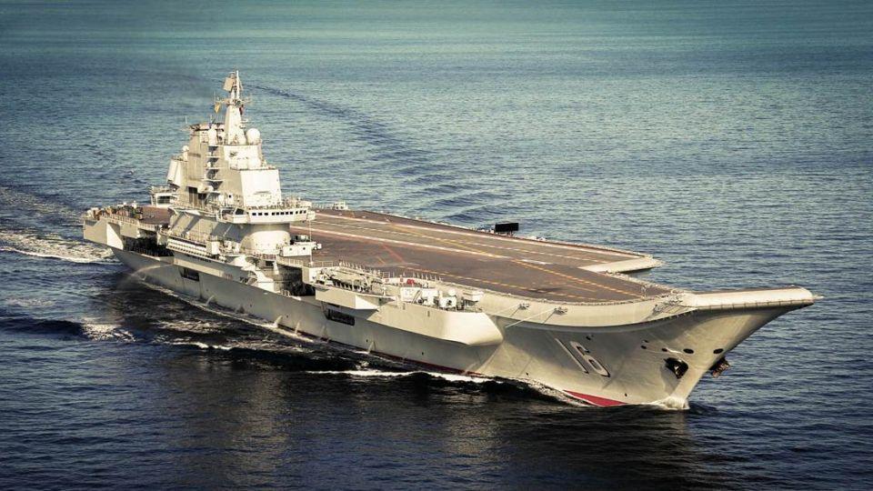 【快訊】大陸遼寧號啟程北返繞台灣海峽 我戰機升空警戒