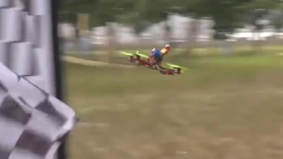 無人機國際競賽 多國高手空中比高下