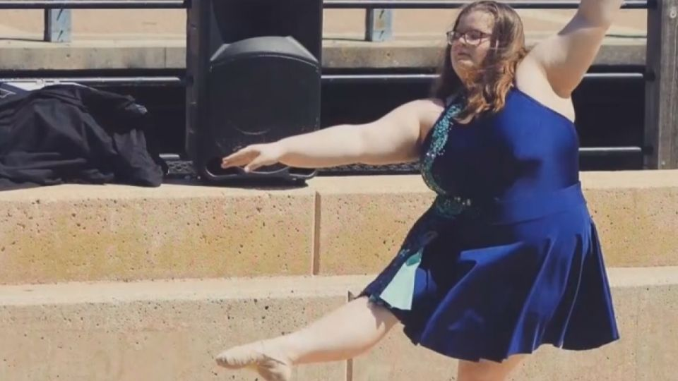 不是瘦才能跳芭蕾! 女孩10連轉打破認知