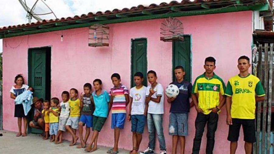 【影片】就是想要一個女娃... 巴西夫婦連生13個兒子