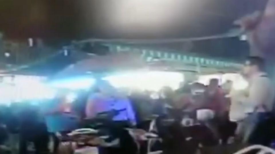 瑞豐夜市爆衝突!章魚燒遭砸攤 老闆頭破血流