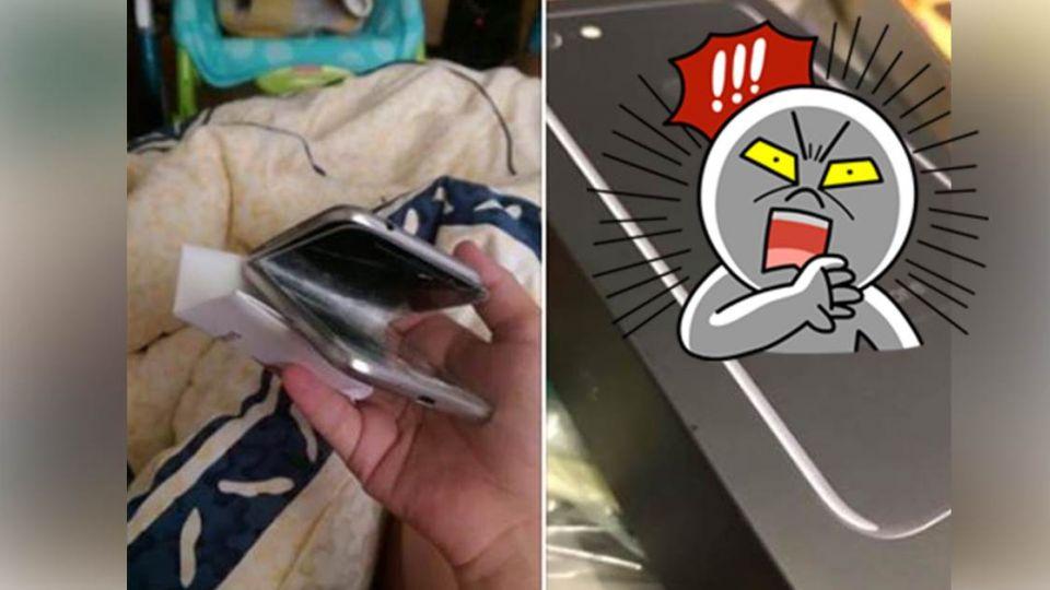 狂!玩遊戲爆氣「折斷」手機 遊戲公司霸氣送iPhone7