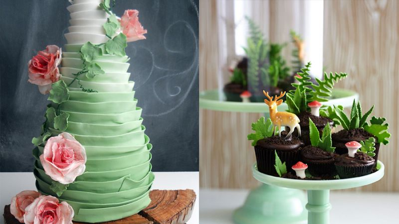 捨不得吃!這些景觀蛋糕美呆網友 甜點師爆是這樣做的