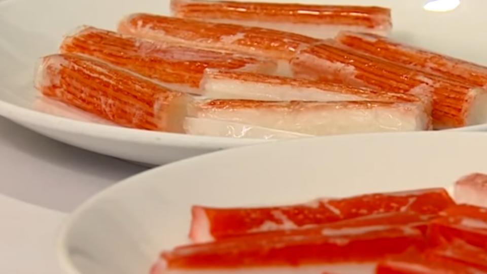 蟹肉棒不是蟹肉?!魚漿+澱粉吃下肚