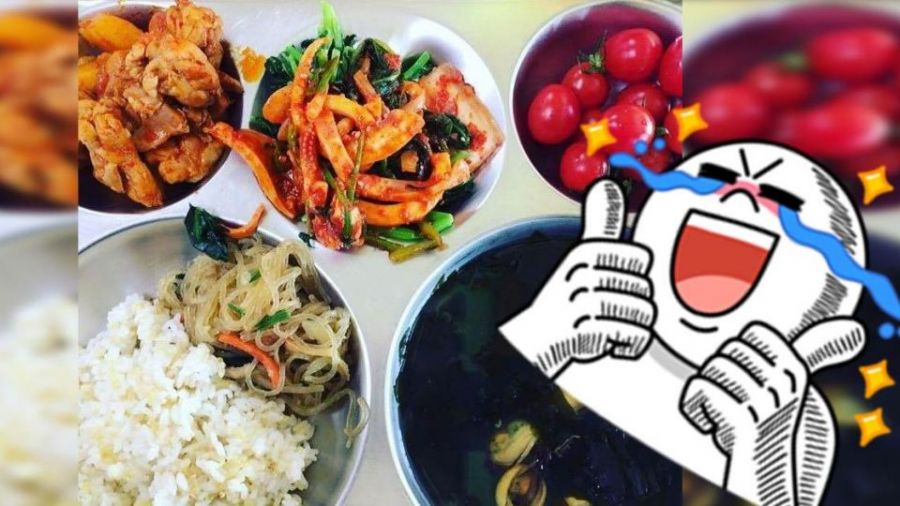 【圖】韓國小學午餐竟有「鮑魚螃蟹」 她狂吃還能瘦三公斤!