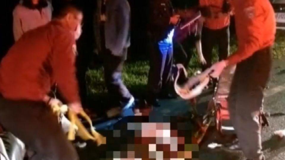 少年無照騎車撞路人 後方追撞釀6傷