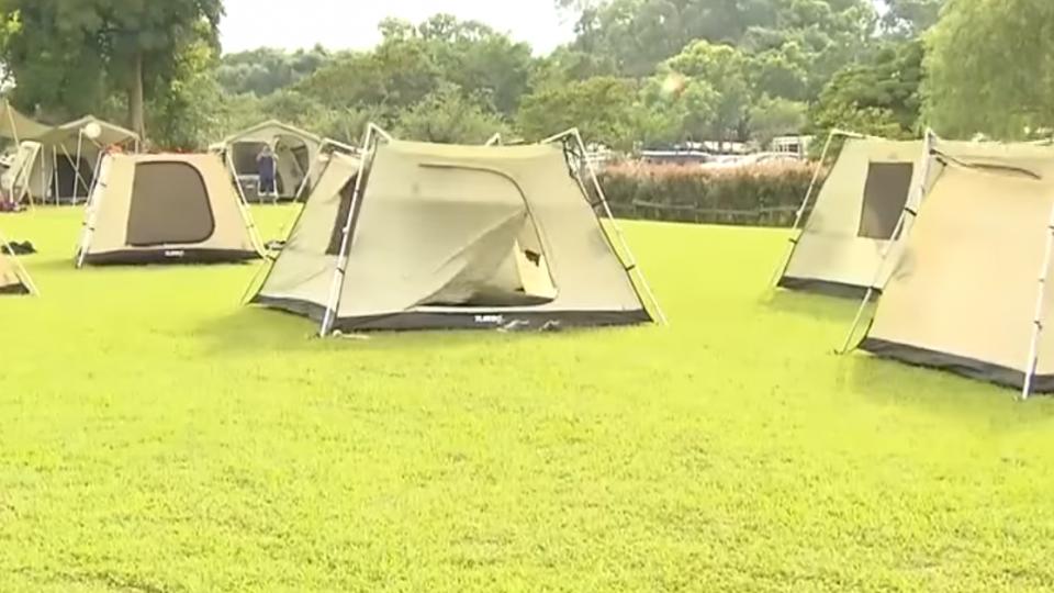 露營正夯! 裝備多、價格高 「出租」搶客