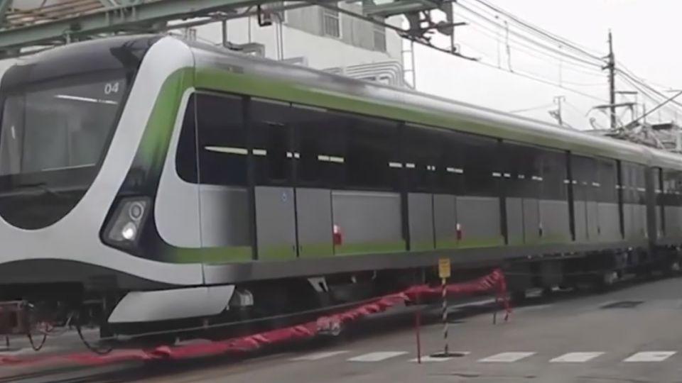 中捷綠線捷運車廂周日抵台 市區遊行亮相