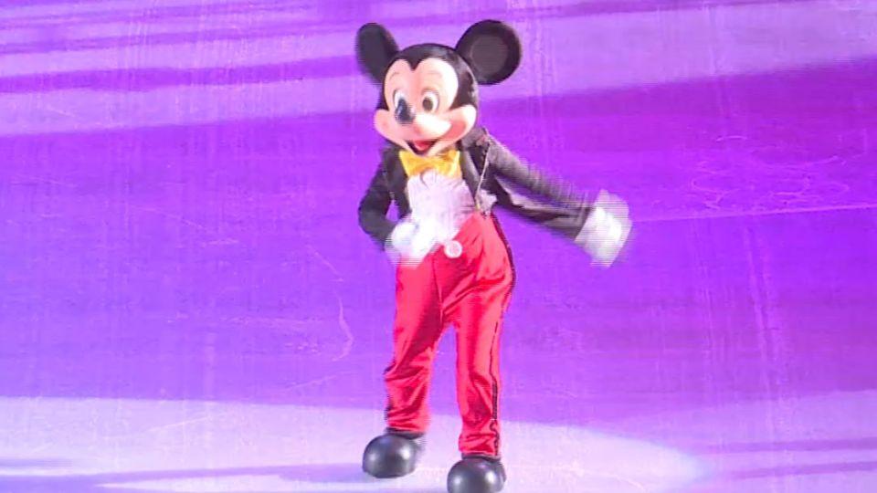 冰上迪士尼經典重現 親子共度奇幻時刻