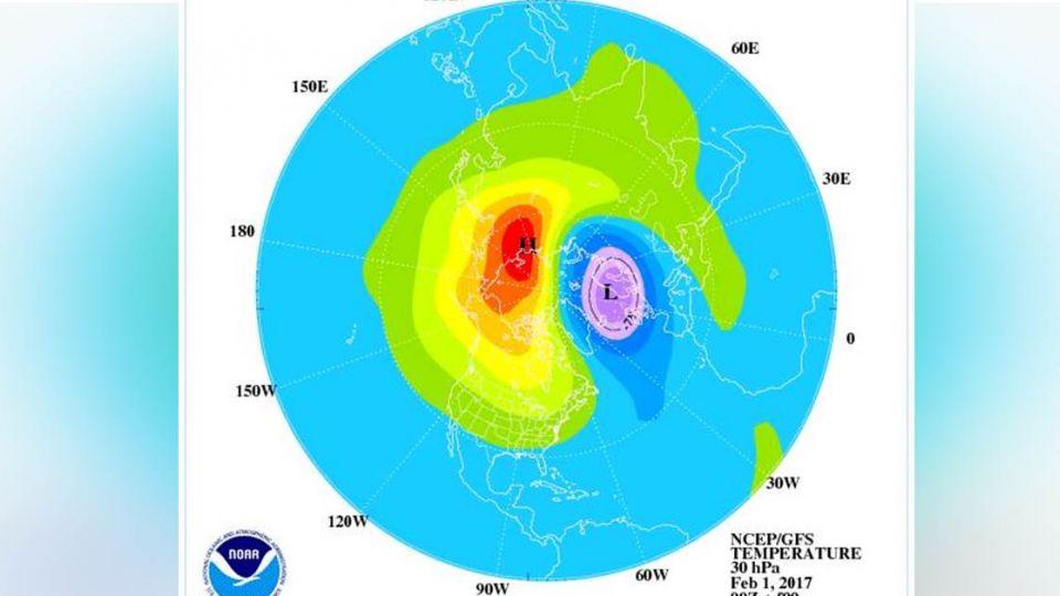 冬天還沒遠離?北極平流層暖變 鄭明典:恐有寒流襲台