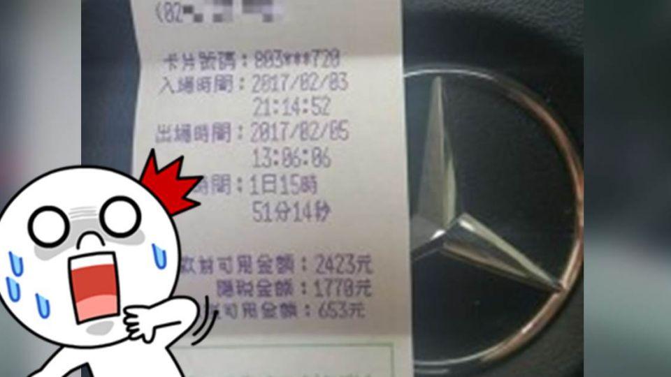 「停車費比住院還貴」 一張發票看出台灣醫界悲哀