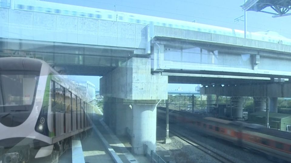 台鐵、高鐵、捷運湊一起 完成台中「三鐵共構」