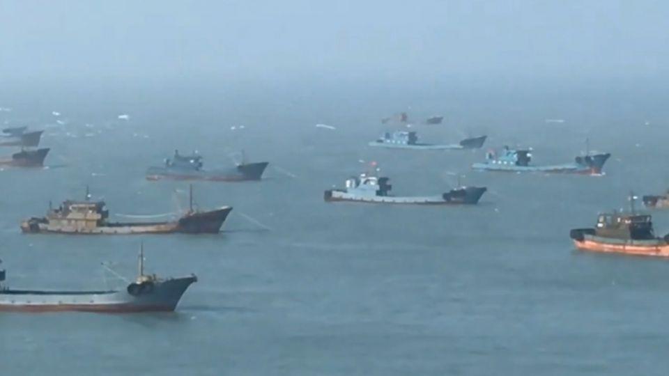 「手機拍至少30艘」 烏坵居民控:陸漁船侵門踏戶