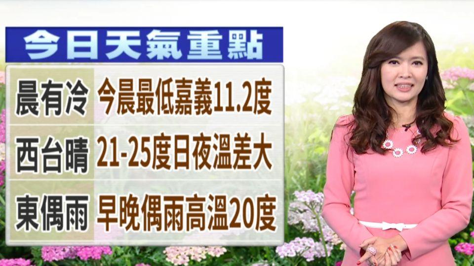 【2017/02/14】今情人節 告別寒流 早晚涼冷 日夜溫差大