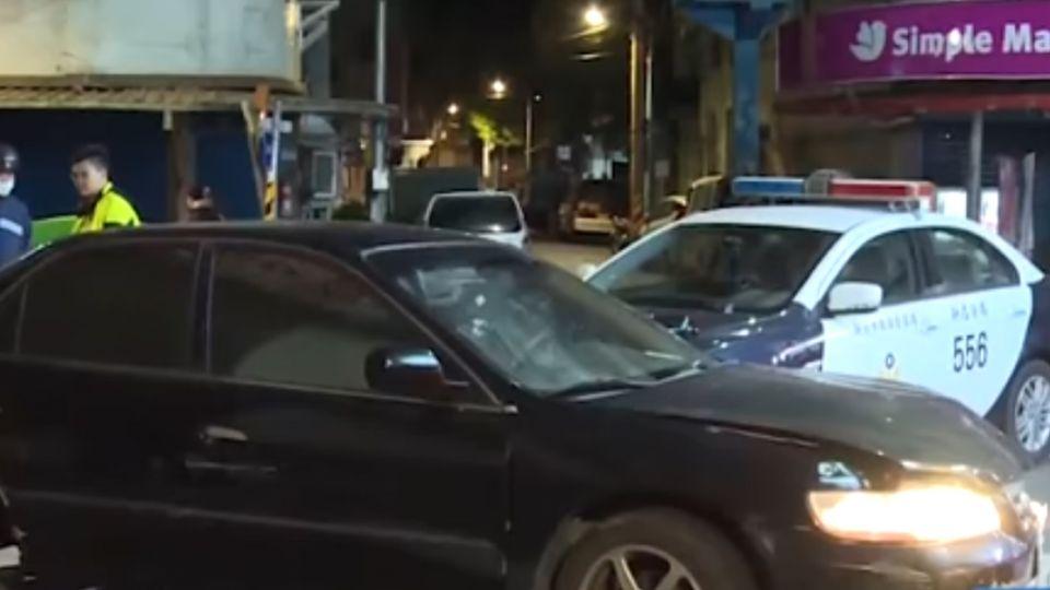 酒駕肇事拒盤查 衝撞所長遭警壓制
