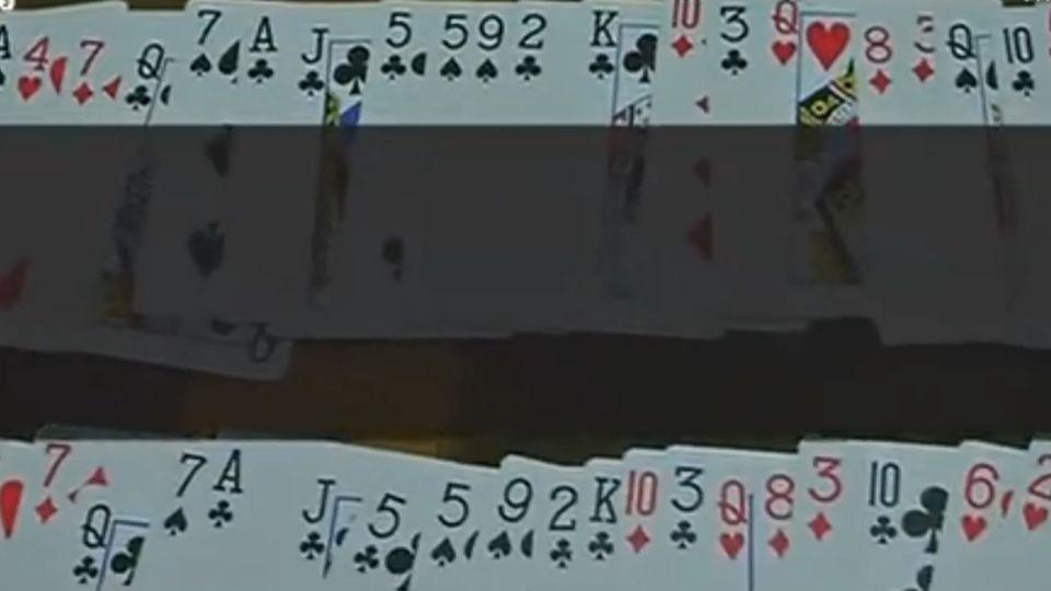 超狂!西安女子45秒記憶 一副撲克牌順序