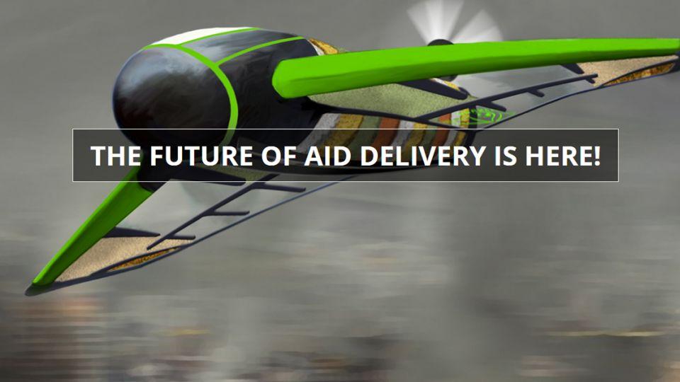 真的就是「搞飛機」!可餵飽80人無人機問世 未來「整架都能吃」