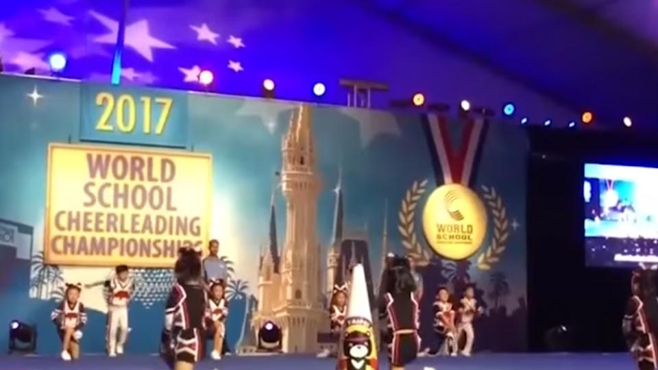 啦啦隊比賽世界冠軍 20參賽孩童回國無獎領