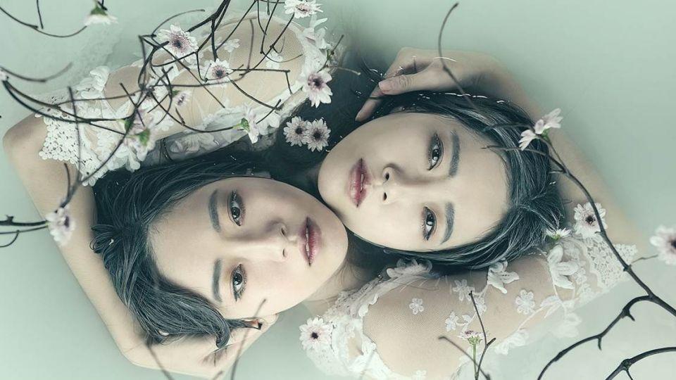 【圖多】甜美「雙胞胎」如鏡子反射!美得似P圖效果 網:醉了