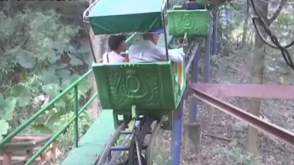登山車故障遊客走軌道?渡假村:安全通道