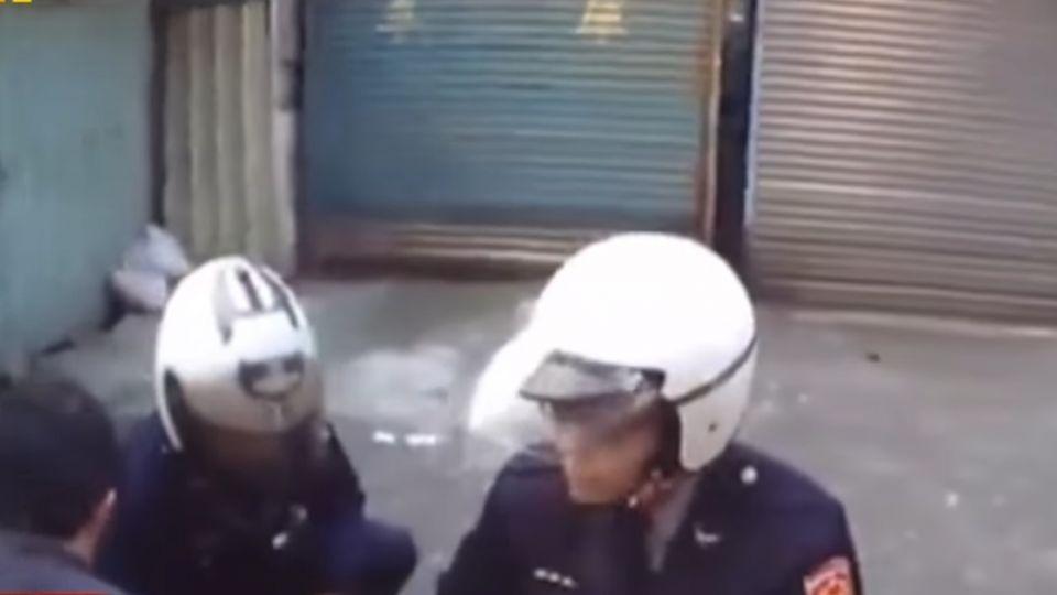 哭了!毒品通緝犯遭警逮 壓制在地哭求饒