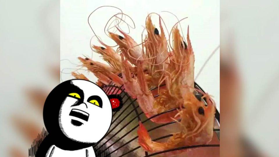 想吃烤蝦沒烤爐!吃貨教你「超蝦吃法」 網:快註冊專利!