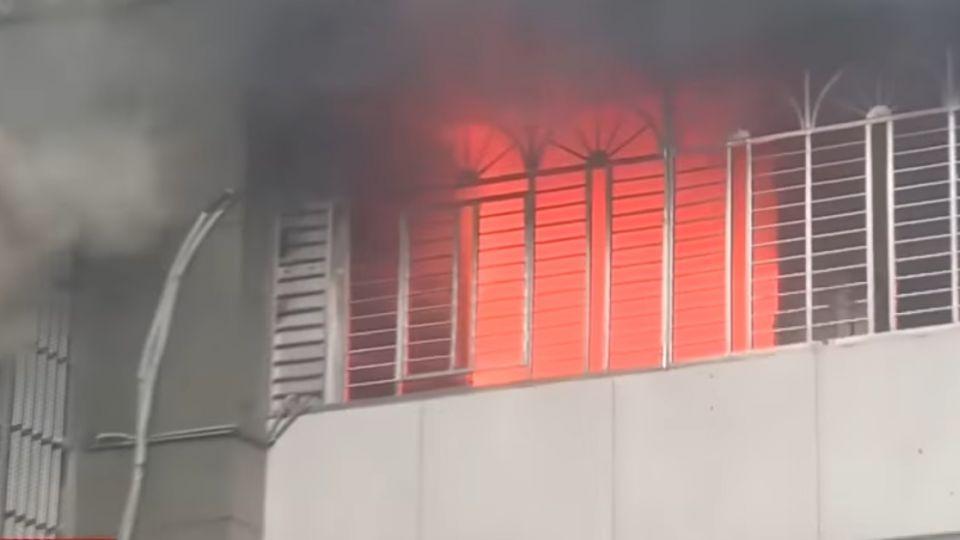 電線走火?公寓大火釀5傷 13住戶急疏散