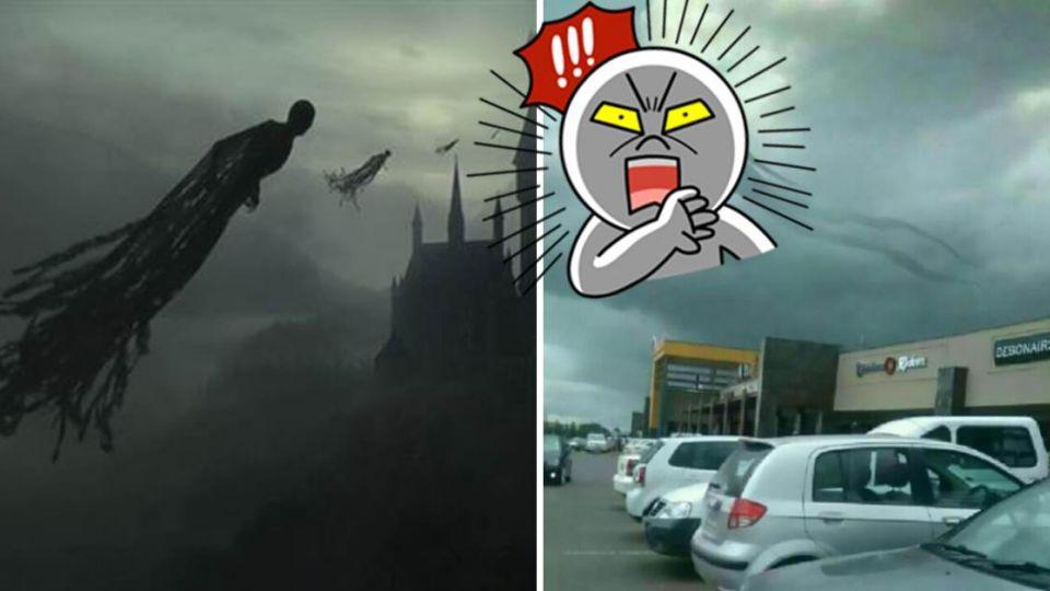「催狂魔」現身購物中心?長型人影浮空中 民眾慌忙逃命!