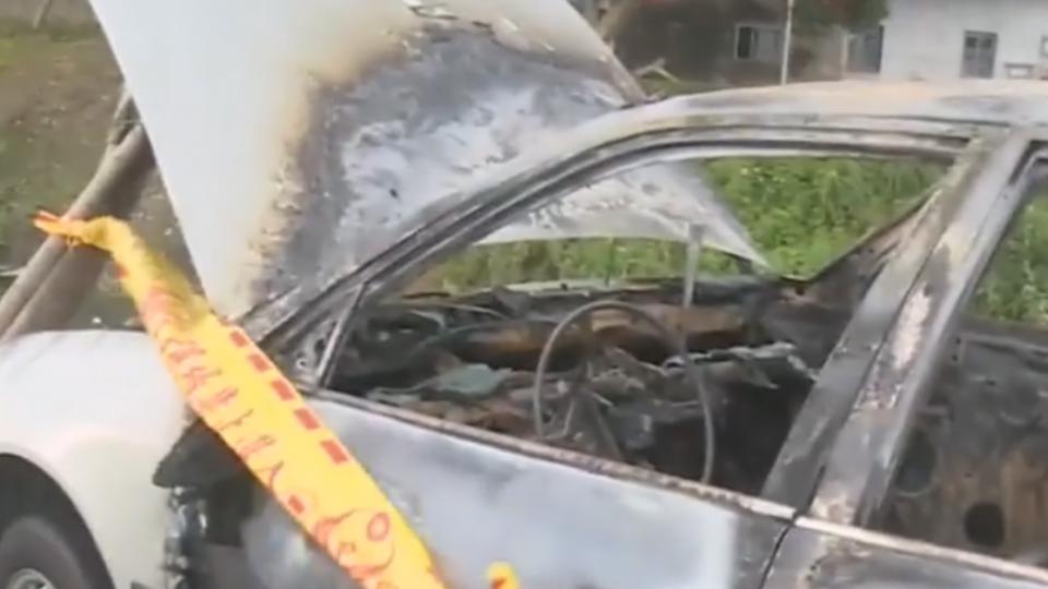 預謀搶劫檳榔攤 嫌犯為滅證火燒贓車
