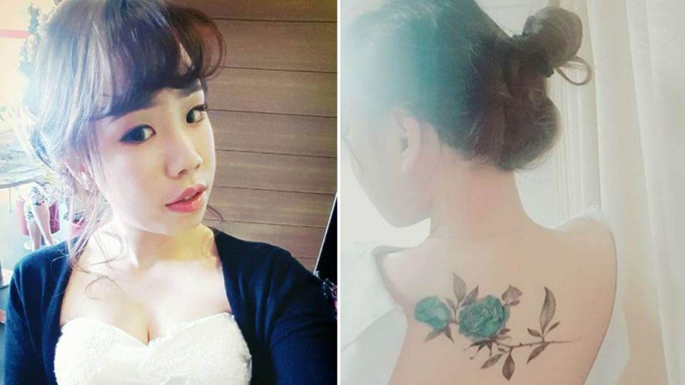 護理師陳綠裸秀美背 淚揭「刺青背後不為人知的秘密」