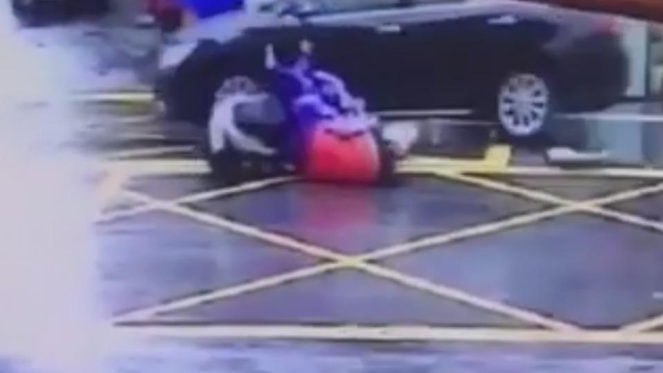一月兩車禍! 羅東危險路口店家裝監視器幫蒐證