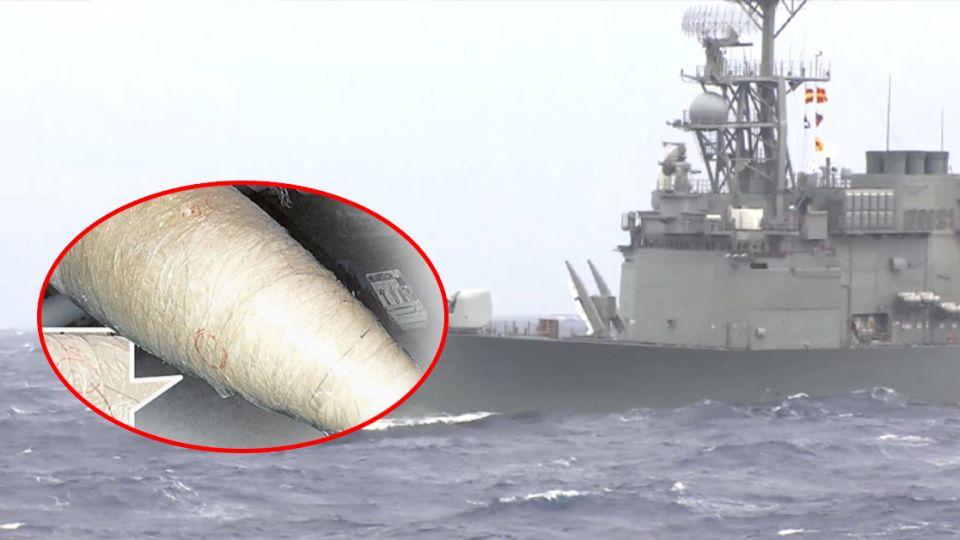 傻眼!海軍3000萬飛彈裂八塊 僅用「膠帶」黏挨批