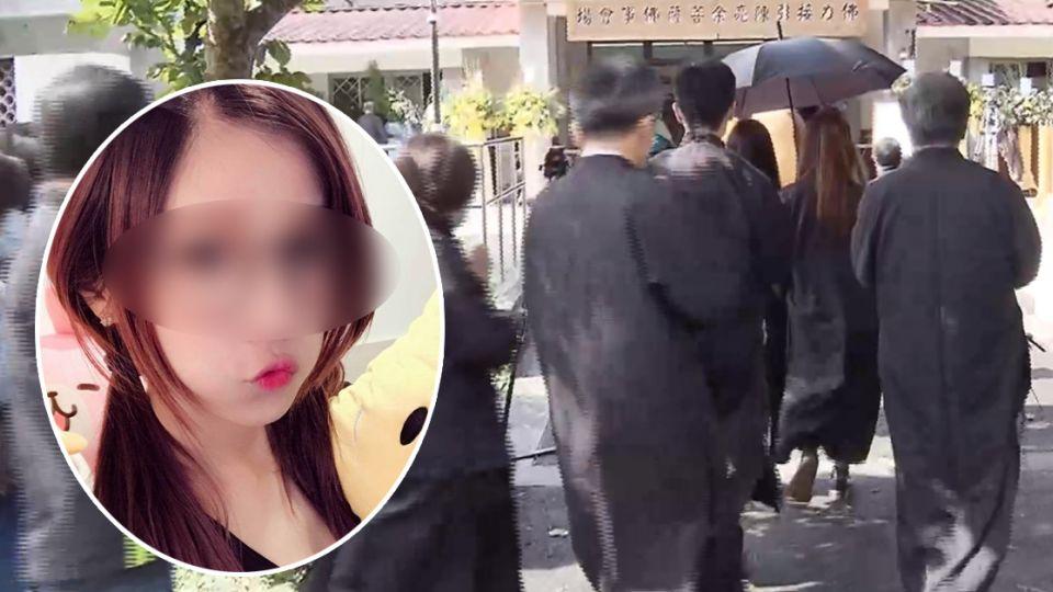 「願妳安息…」遇害女模告別式梁女未到場 臉書11字表哀悼