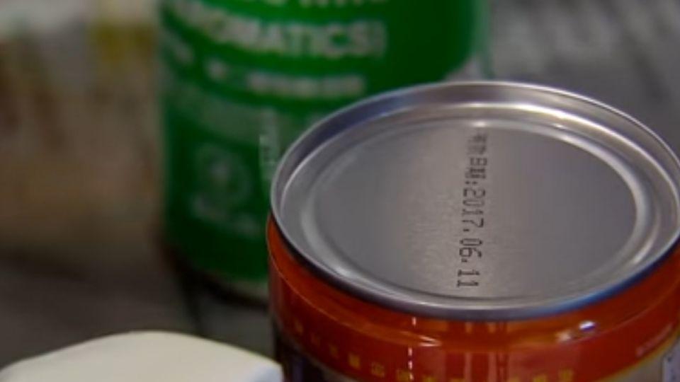 油墨打印「有效日期」 只要一瓶「去漬油」就能改