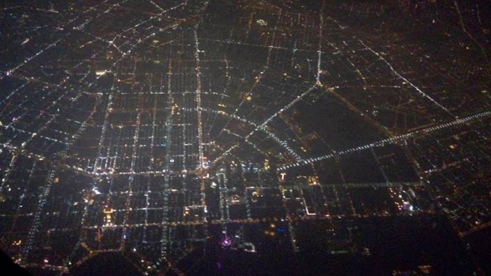 這空拍夜景在台灣哪裡? 網友:一看就知道是「這裡」
