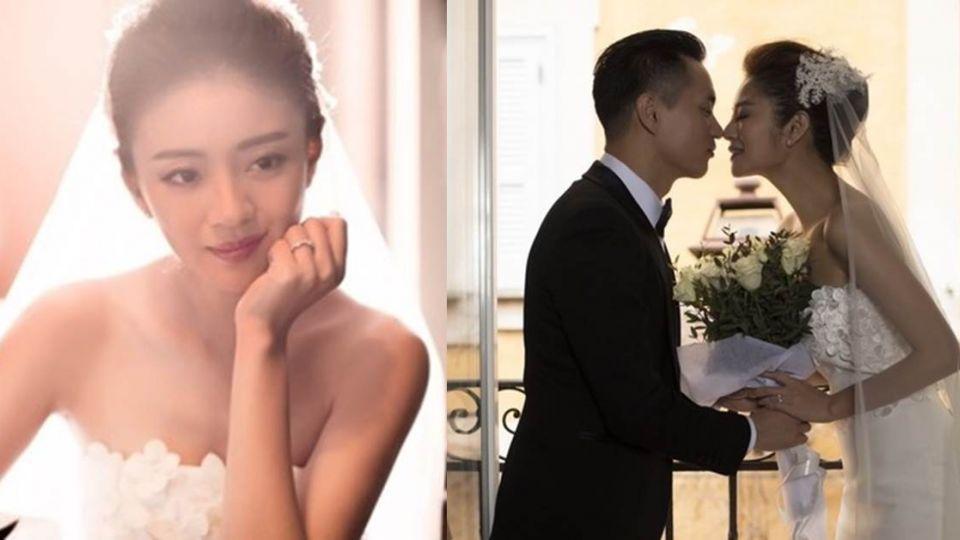 賀!安以軒閃嫁百億CEO 嬌嗲「請好好愛護陳太太」