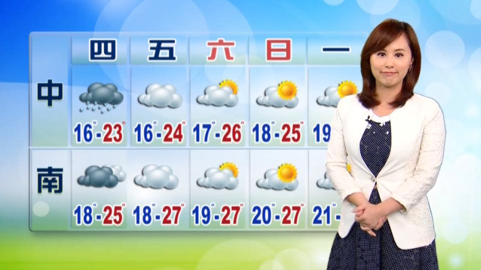 【2017/03/15】華南雲系東移 入夜起北東降雨又增加