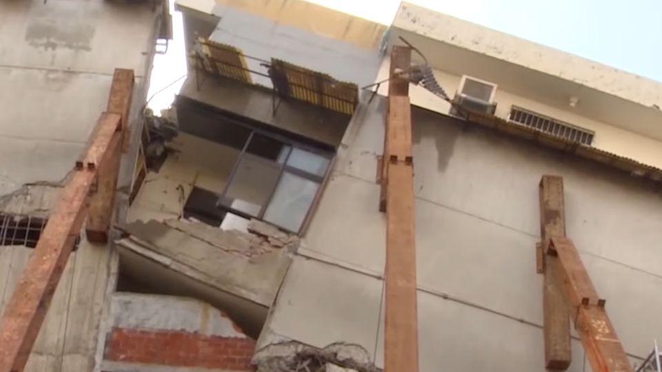 家剩一半危公安恐拆除 屋主斥市府幫建商拆屋